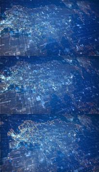 科技地图背景视频素材