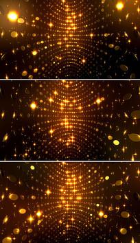 闪烁金色粒子颁奖背景视频