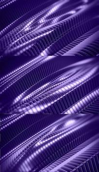 紫色线条波纹背景视频素材
