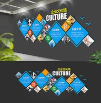 动感个性企业精神化墙展板