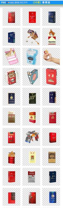 香烟盒png素材