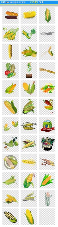 玉米png素材