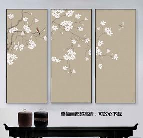 中国风工笔花鸟画