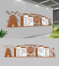 中式村规民约文化墙