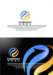 LOGO设计标志设计电子标志