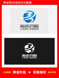 MH字母HM标志地球logo CDR