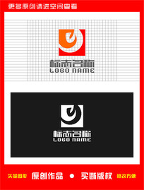 Y字母e标志公司logo