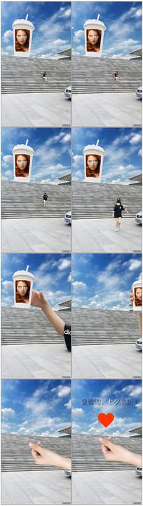 创意表白微信小视频模板