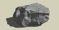 灰黑色石头
