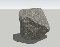灰色大岩石su