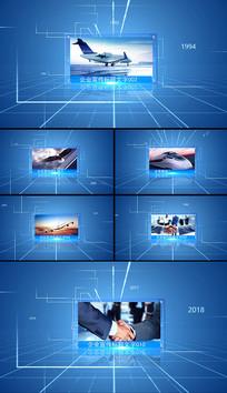 简洁图文展示企业宣传AE模板