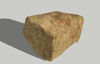 景观黄色石头