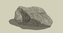 景观灰棕色石