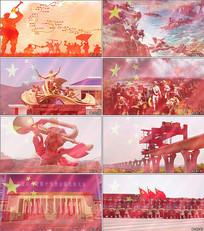 没有共产党就没有新中国背景视频