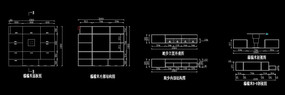 榻榻米CAD施工尺寸图 CAD