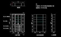 欧式造型酒柜造型尺寸图