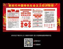 学习中国特色社会主义经济思想展板