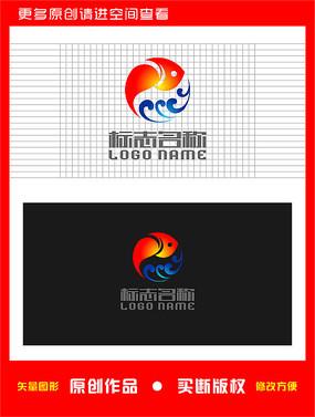 鱼水产logo图片