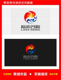 鱼水产logo