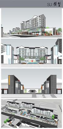 中式住宅小区及商业