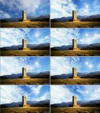 边界线背景视频