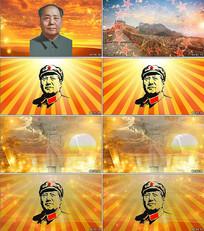 东方红太阳升背景视频