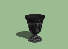 欧式雕花容器