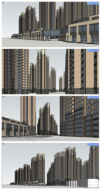大型住宅小区方案设计