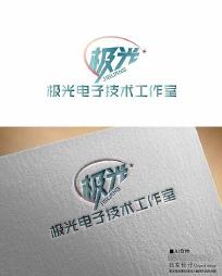 电子类极光logo