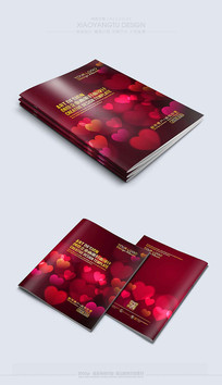 红色喜庆最新婚庆封面素材