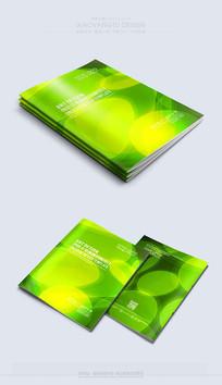 绿色时尚清新封面素材