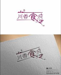 食府饭店logo