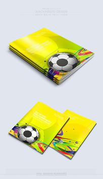 时尚大气足球背景封面素材