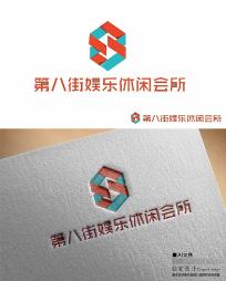 数字8休闲logo