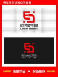 ES字母EJ标志logo