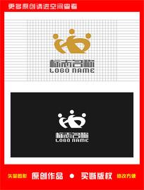 HX皇冠XH标志logo