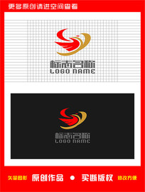 SY字母GY标志飞鸟logo