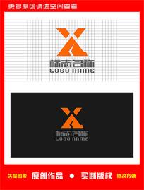 XA字母AX标志 CDR