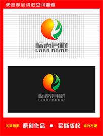 YQ字母QY标志太极logo