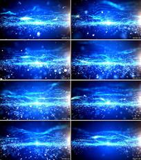科技线条粒子扩散背景视频