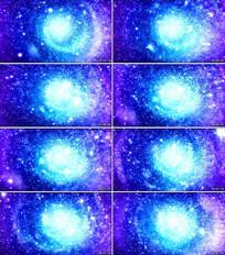 星空粒子背景视频