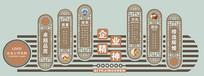 中国风企业文化墙