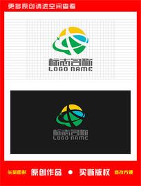 AQ字母QA标志星球logo