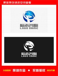 FP字母PF标志FX logo