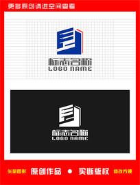 F字母建筑地产装饰logo