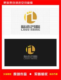 HL字母LH标志W logo