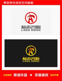 HR字母RH标志中字logo