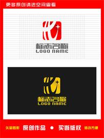 HX字母XH标志星logo