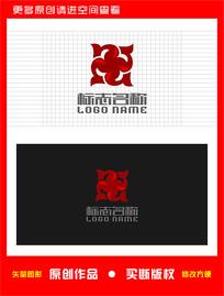 Y字母X旋转logo