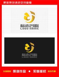 ZJ字母JZ标志logo